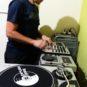 DJ Lorin no estúdio SS do Junto e Mixado