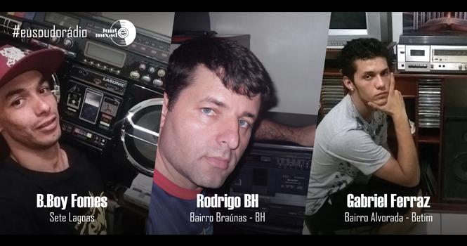 #eusoudorádio
