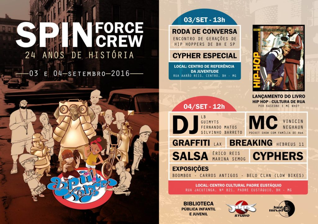 Spin Force Crew - 24 anos