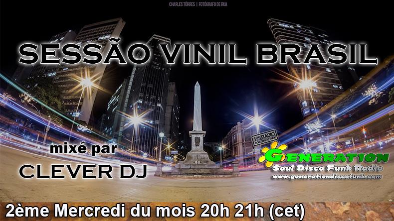 Sessão Vinil Brasil na Generation Soul Disco Funk Radio