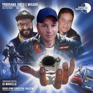 Flyer Junto e Mixado - DJ Marcelo