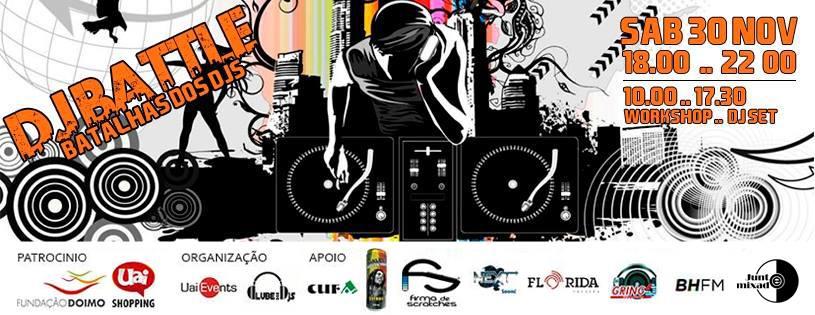 Flyer DJ Battle MG 2013 - atualizado