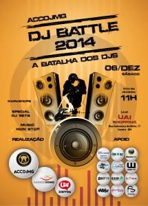 Flyer DJ Battle 2014