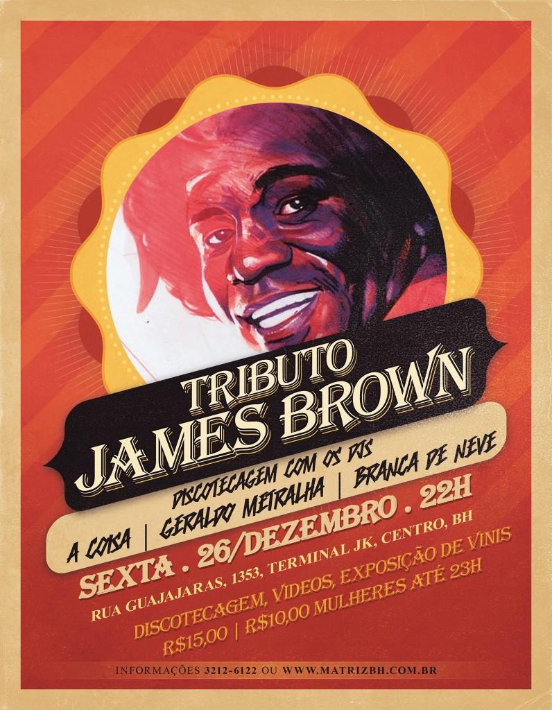 Tributo à James Brown - dez 2014