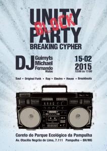 Unity Block Party 15fev - Flyer